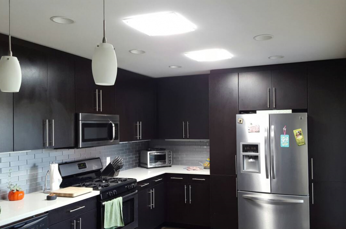 Modern Kitchen with Square JustFrost
