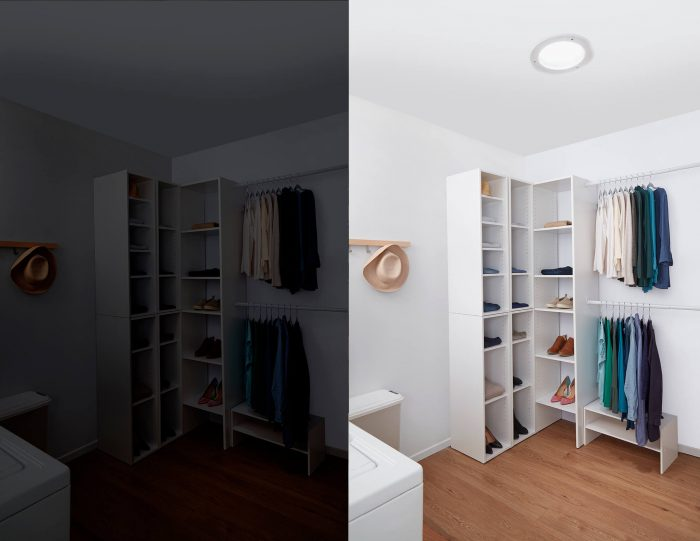 Closet Before After